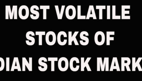 The Most Volatile Stocks